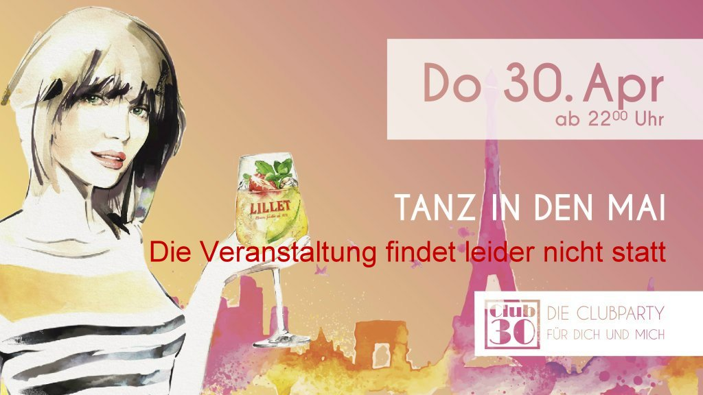 Mein Club 30 April 2020 Tanz in den Mai